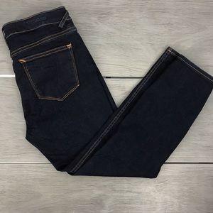 Vigoss jeans the jagger mid rise crop 28